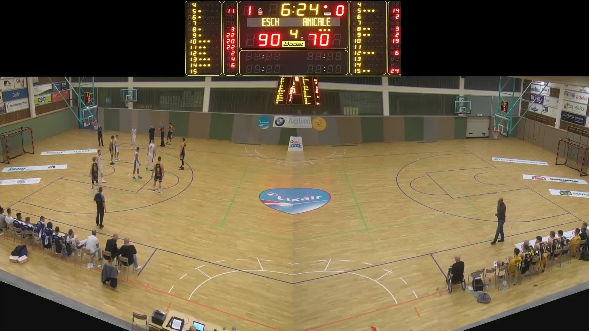 Basket Esch ( Seniors A ) - Amicale - 26.10.2019