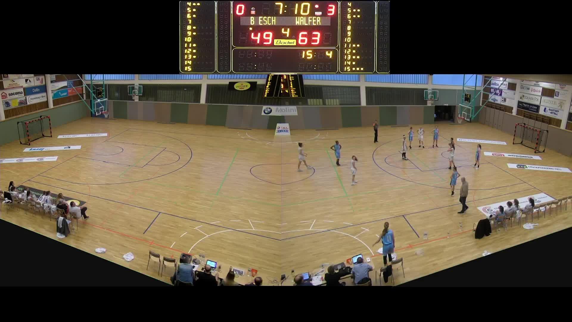 Basket Esch Dames A - Résidence - 03.03.2019