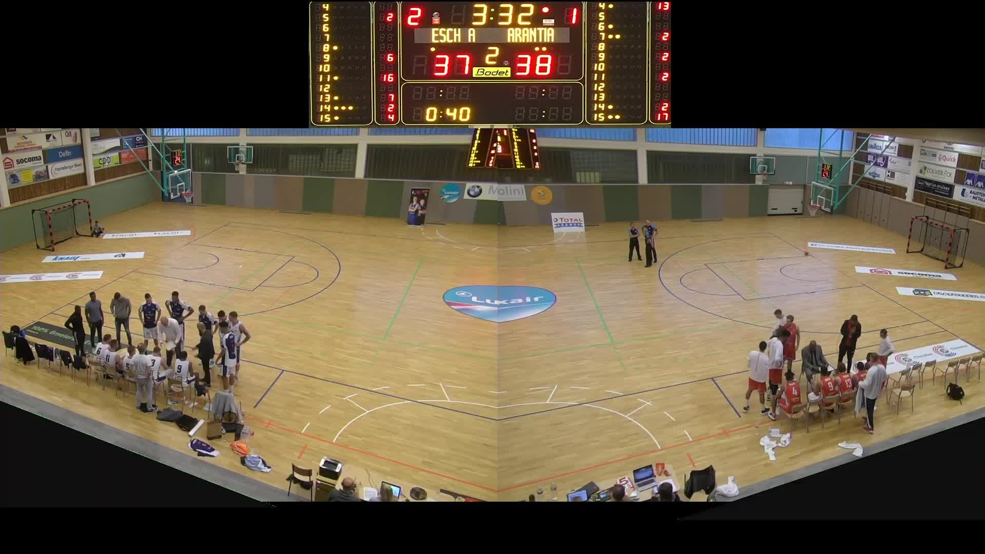 Basket Esch (Seniors A) - Arantia - 06.10.2019