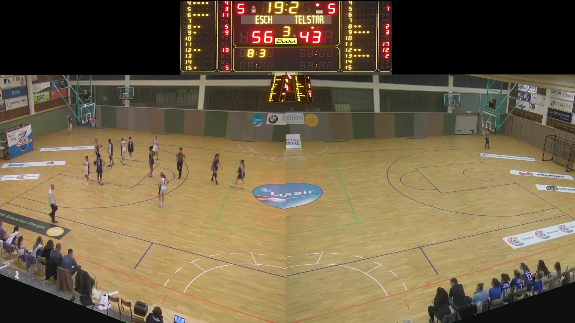 Basket Esch ( Dames A ) - Telstar - 23.11.2019