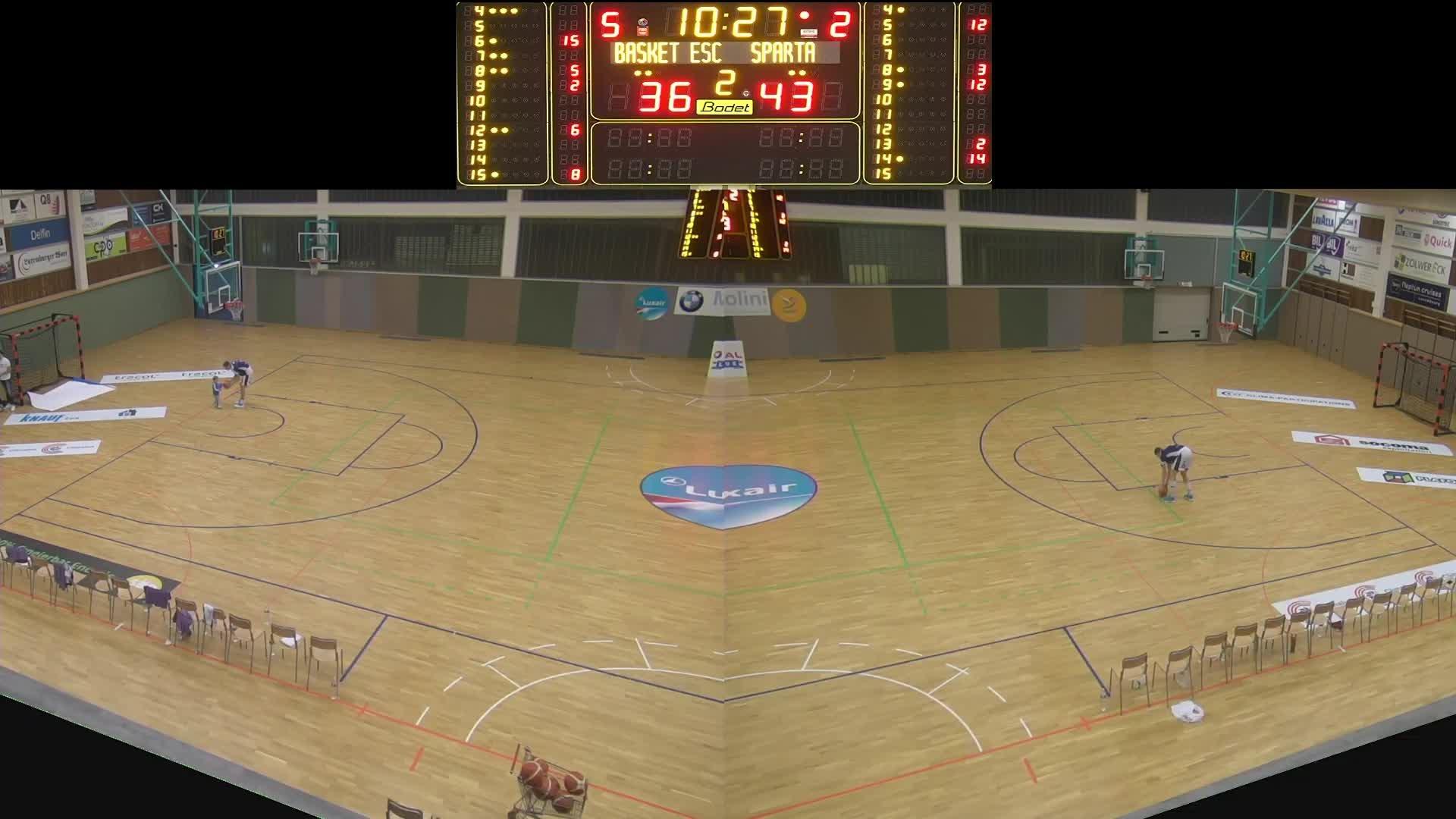 Basket Esch ( Dames A ) - Sparta - 08.11.2019