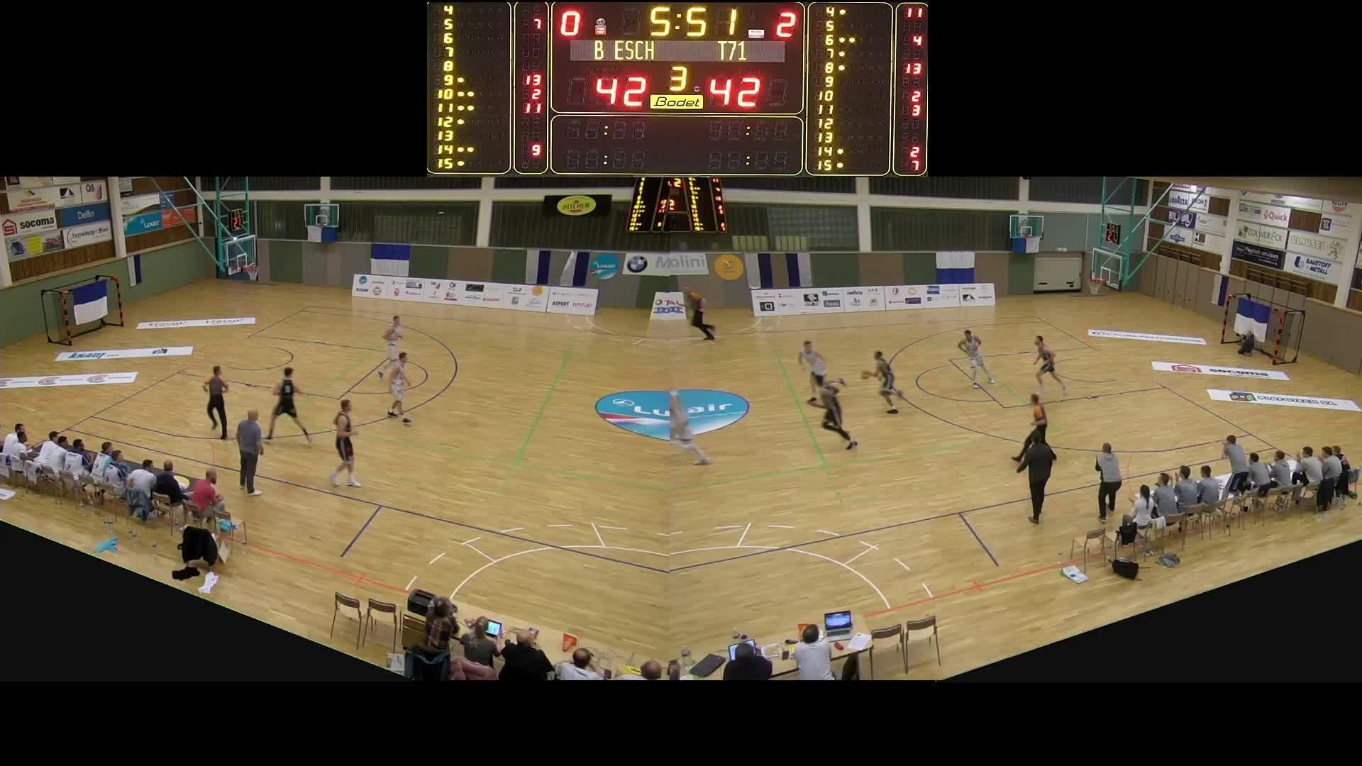 Basket Esch Seniors A - T71 - 03.04.2019
