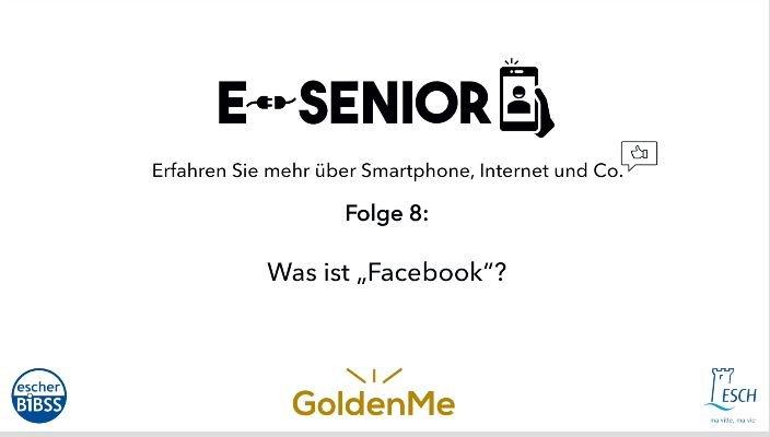 Escher BiBSS – e-Senior – Facebook
