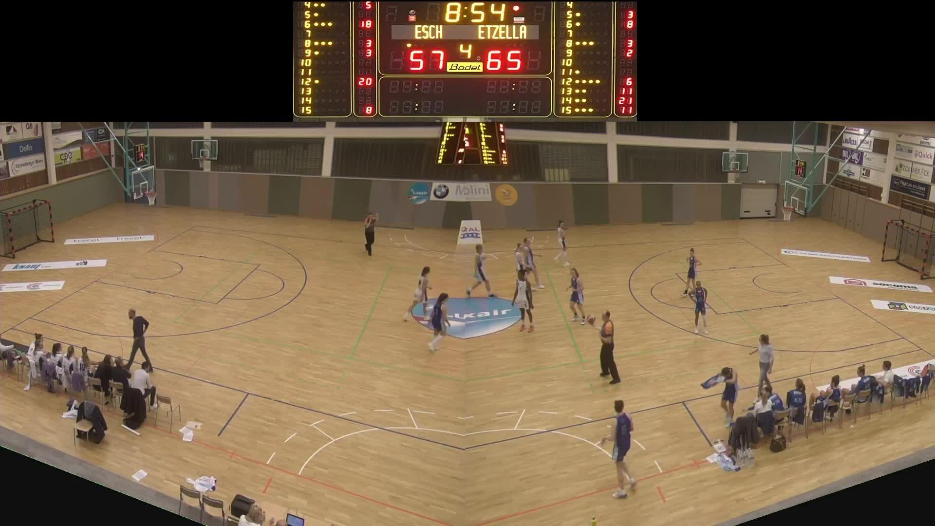 Basket Esch ( Dames A ) - Etzella - 24.01.2020