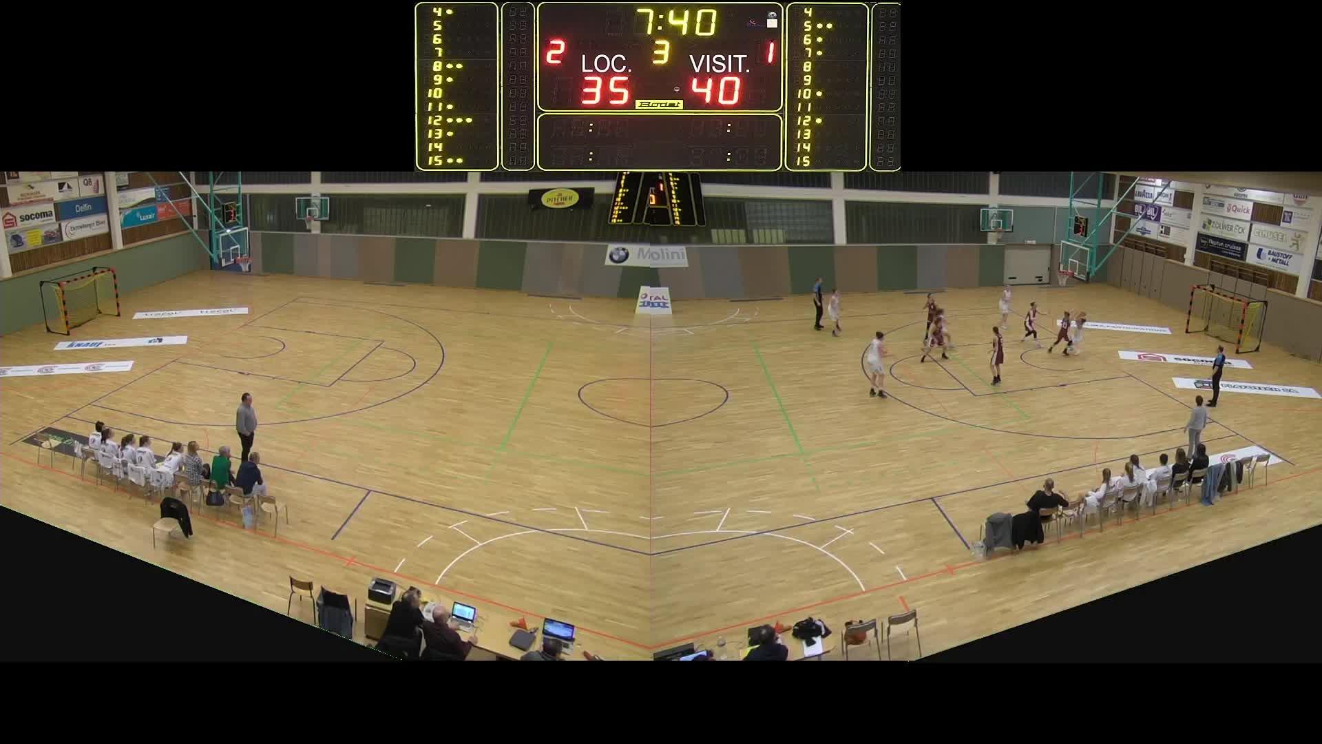Basket Esch Dames A - Sparta - 19.01.2019