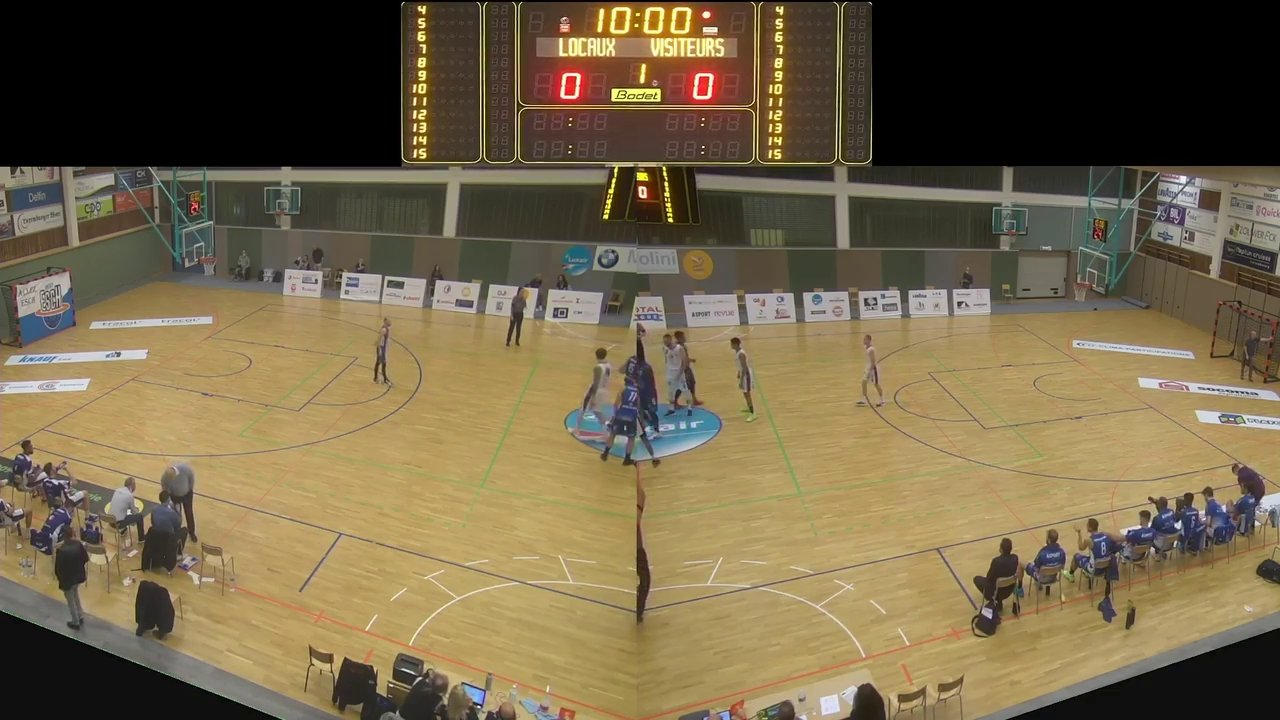 Basket Esch ( Seniors A ) - Etzella - 17.10.2020