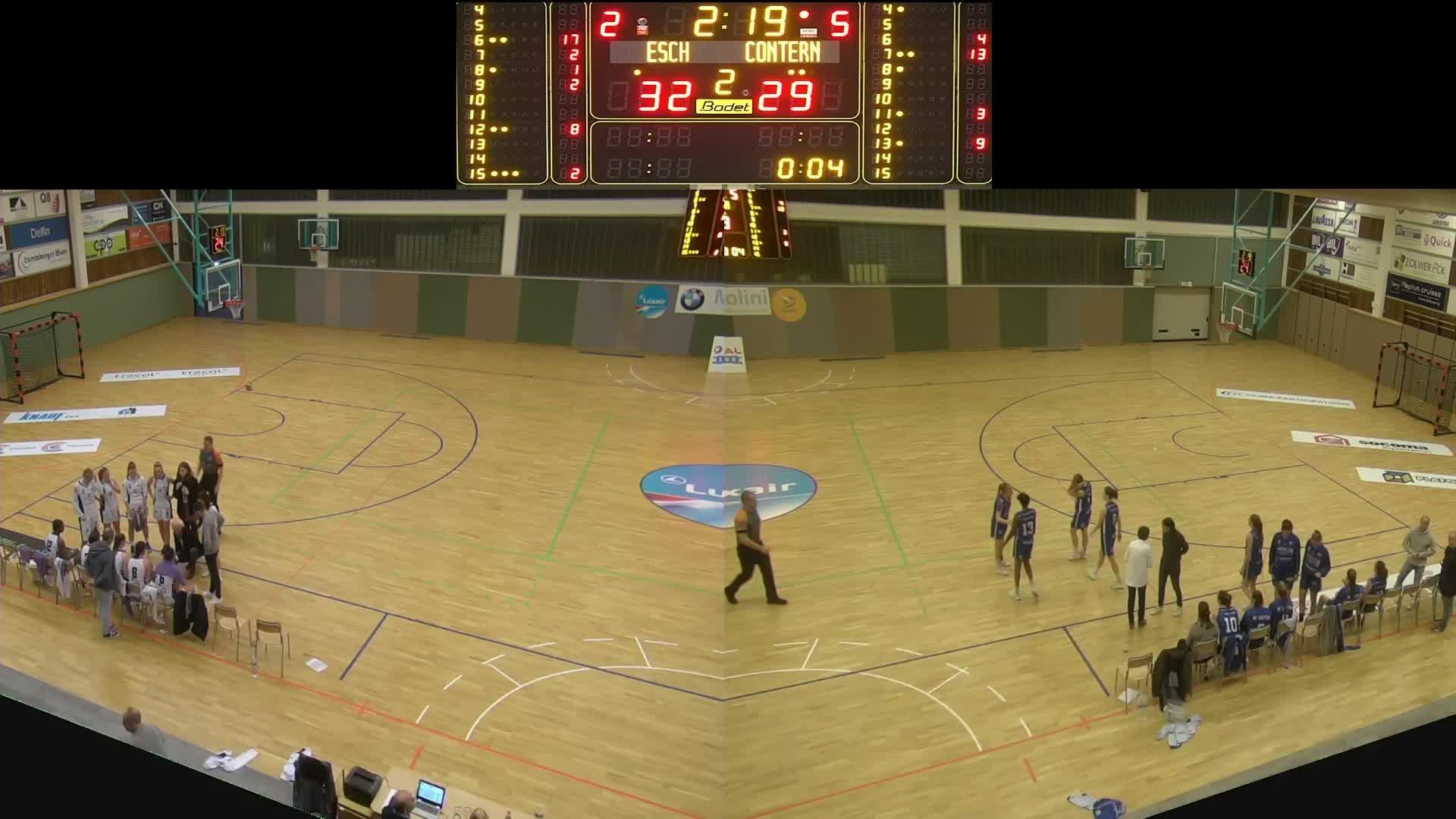 Basket Esch ( Dames A ) - Contern - 30.11.2019