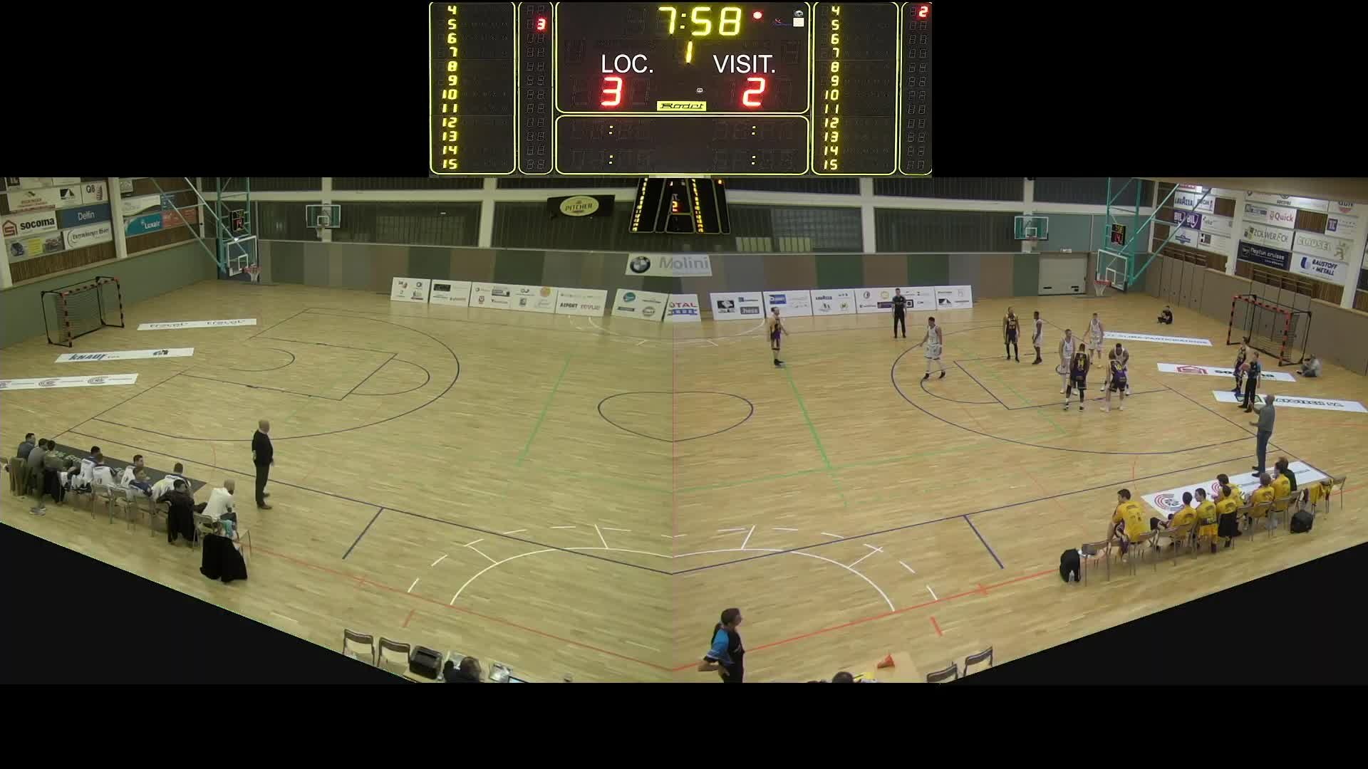 Basket Esch Seniors A - Amicale - 09.02.2019