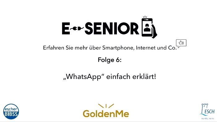 Escher BiBSS - e-Senior -  WhatsApp