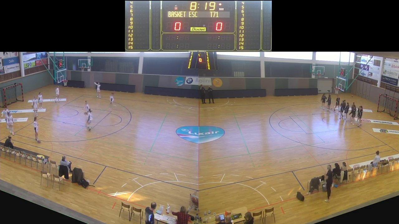 Basket Esch (Dames) – T71 Dudelange – 21.02.2021