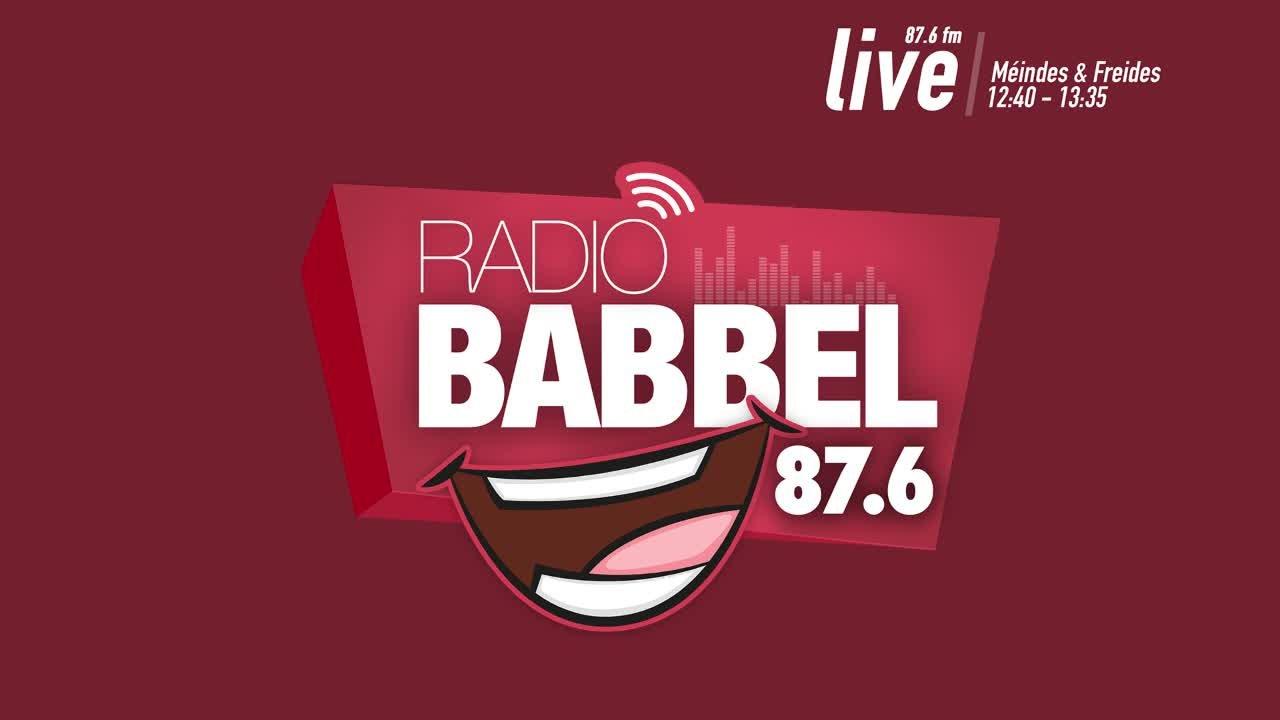 "Radio Babbel 87.6FM ""Sendung 3"" vum 5.11.2018"