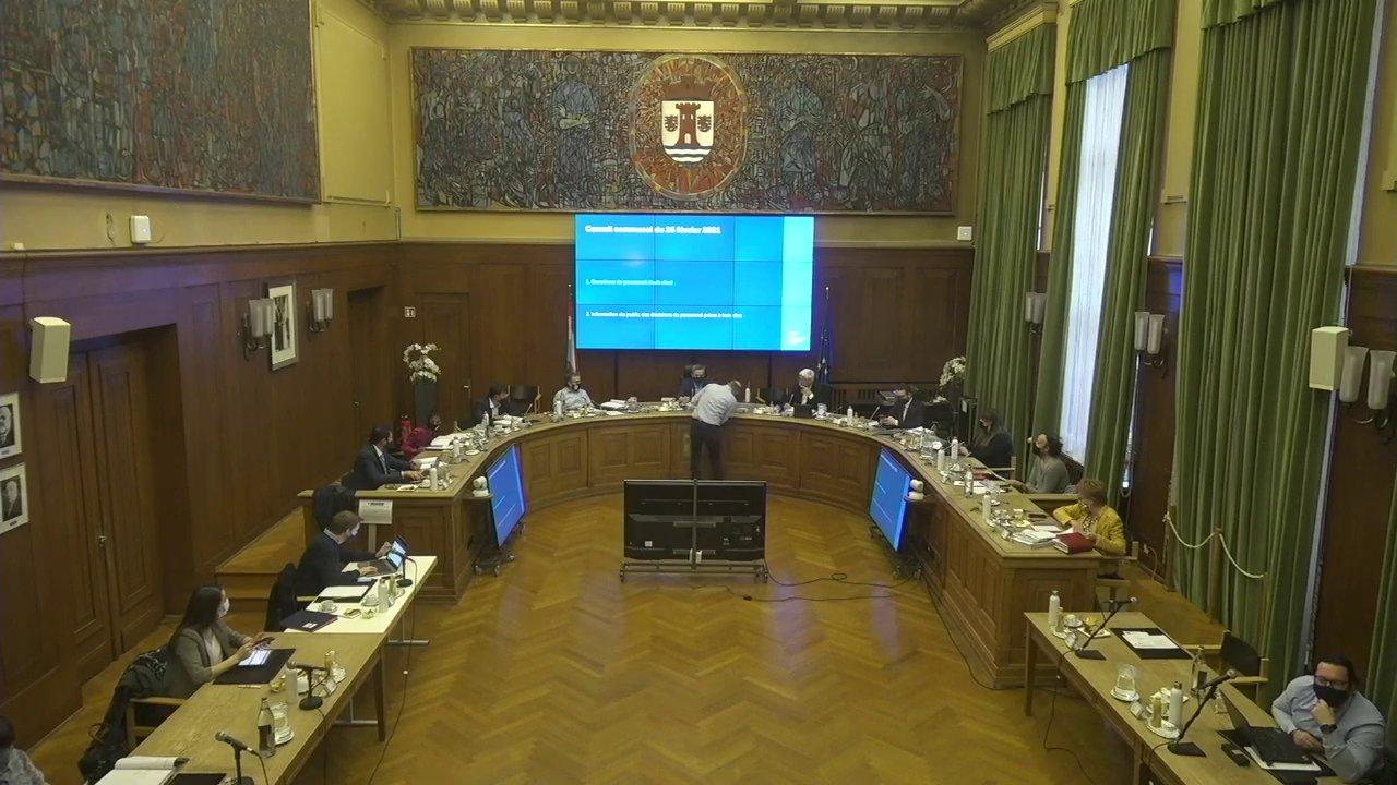 Conseil communal du 26 février 2021