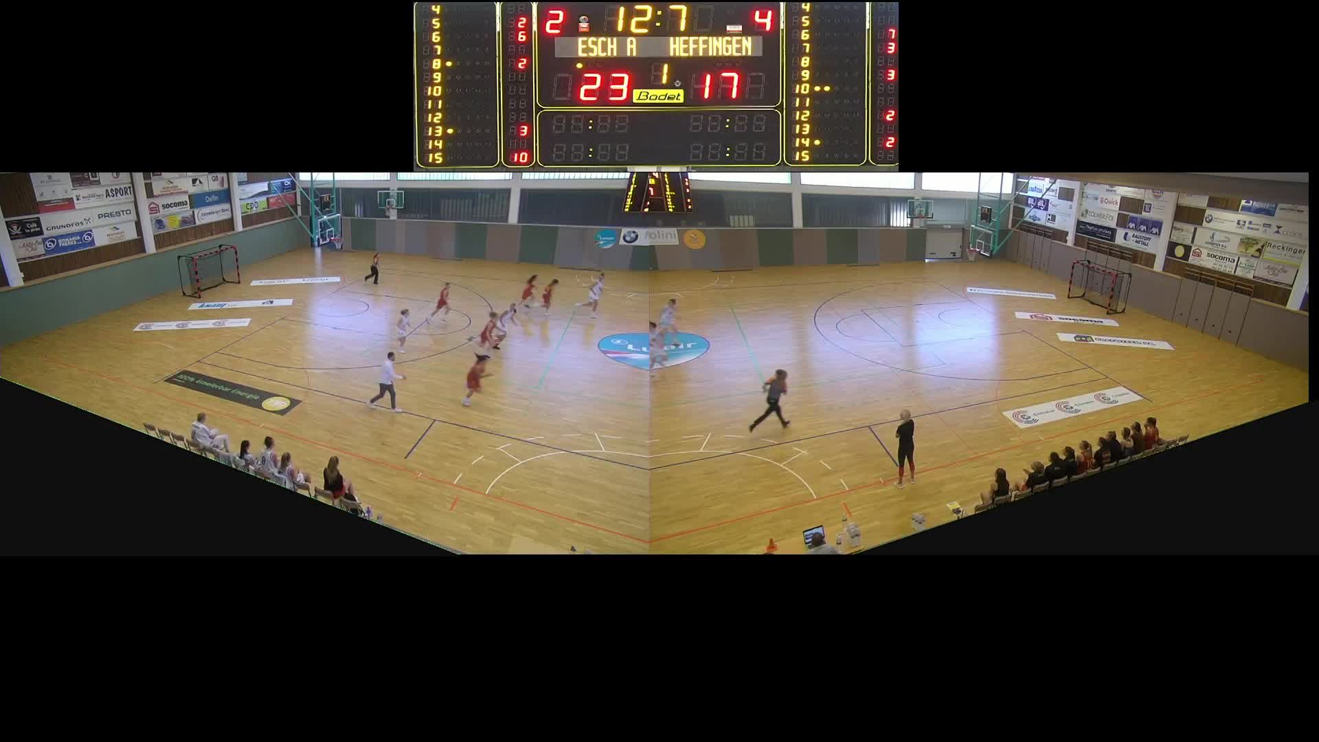 Basket Esch Dames A - Heffingen - 15.09.2019