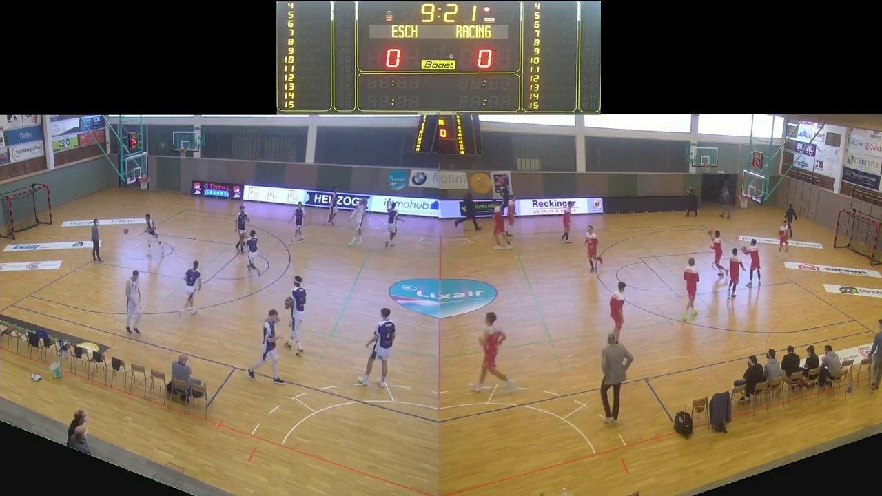 Basket Esch (Seniors A) – Racing – 14.03.2021