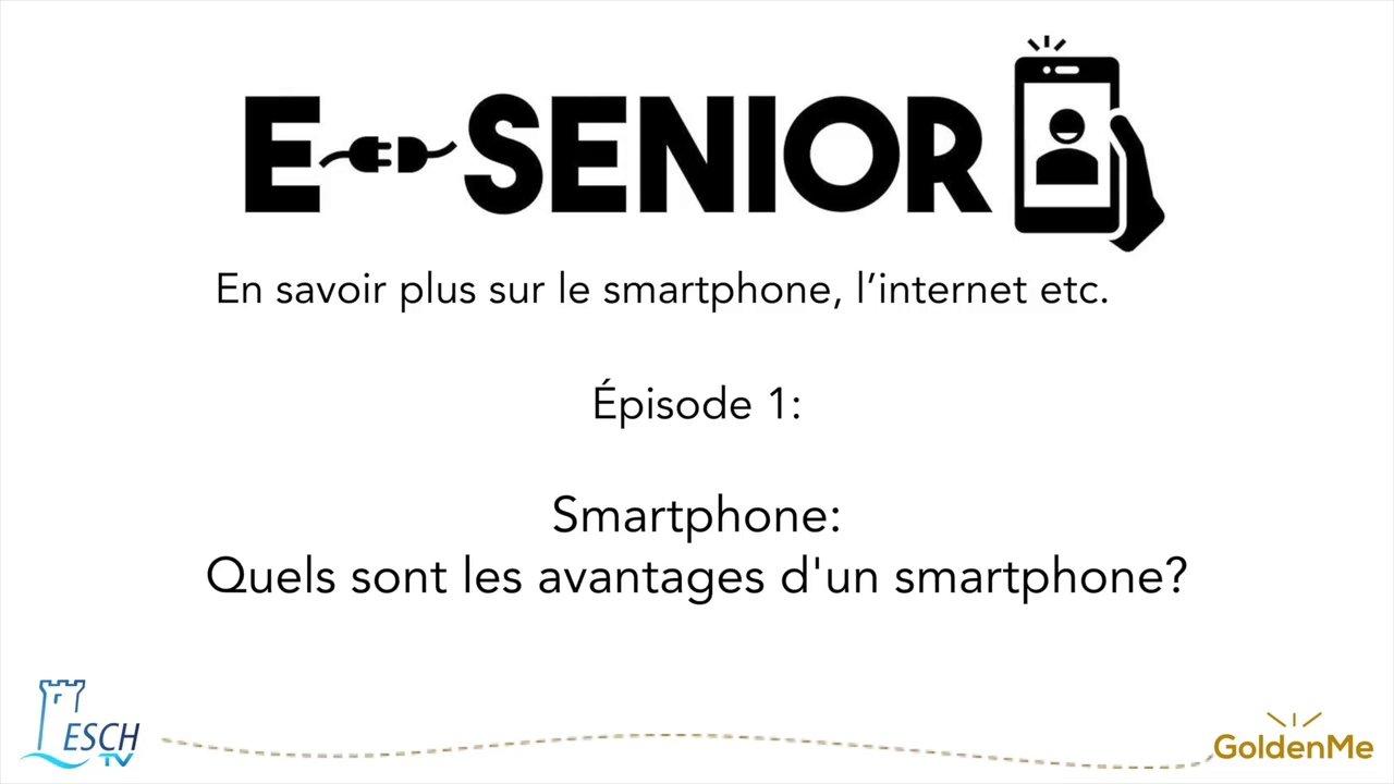Escher BiBSS – e-Senior  01 Smartphone