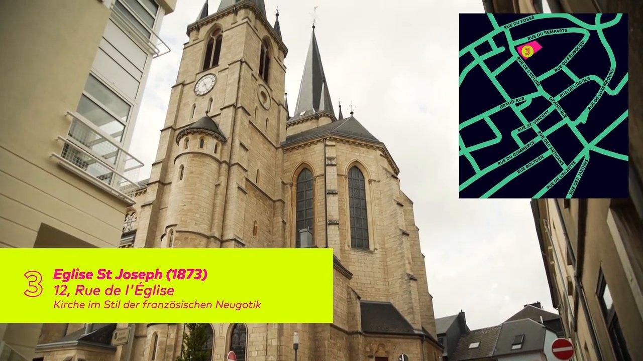 Architektur Promenade in Esch – Teil 1