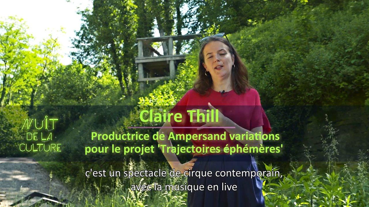 Nuit de la Culture 2021 – Claire Thill