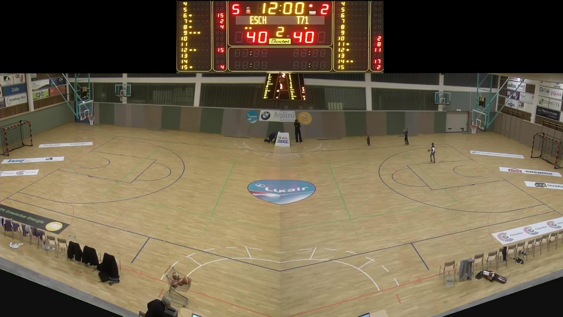 Basket Esch ( Dames A ) - T71 - 11.01.2020