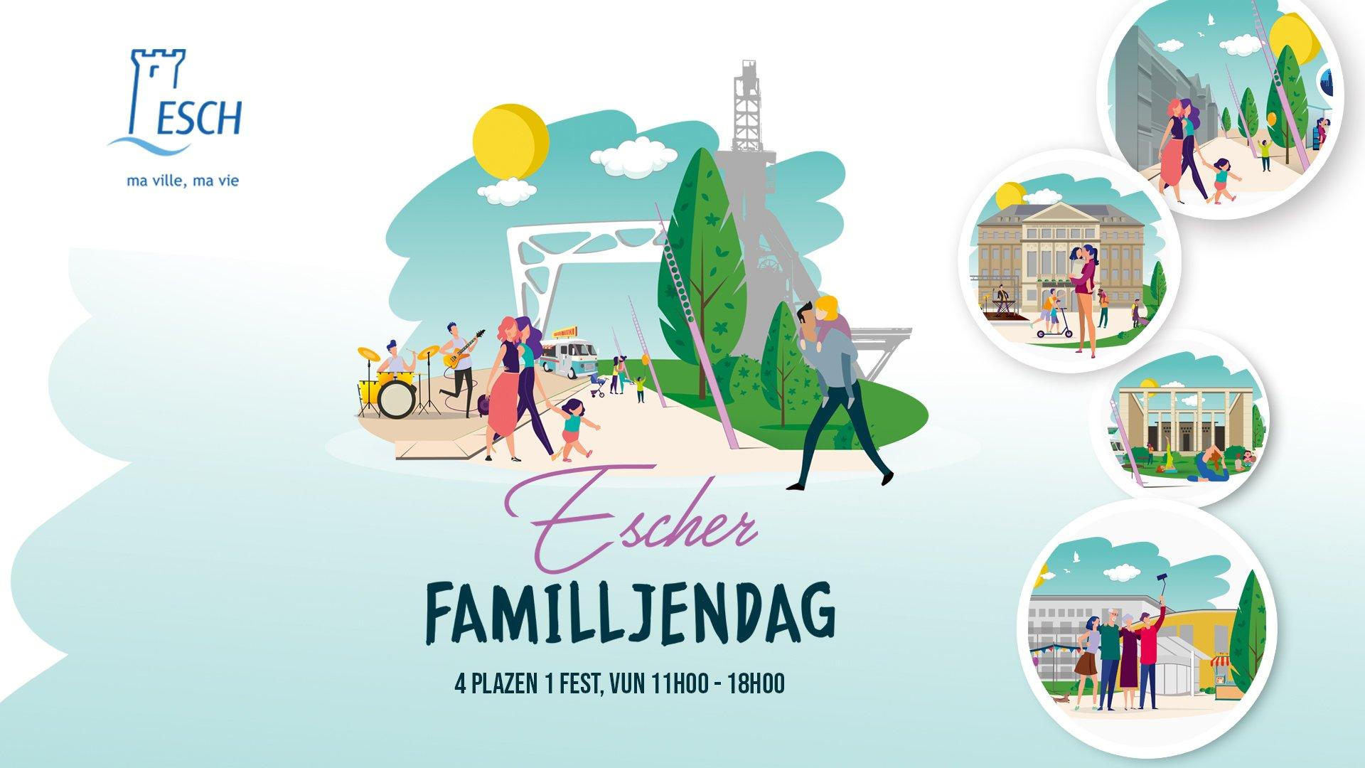 Escher Familljendag Teaser - 26.09.2020