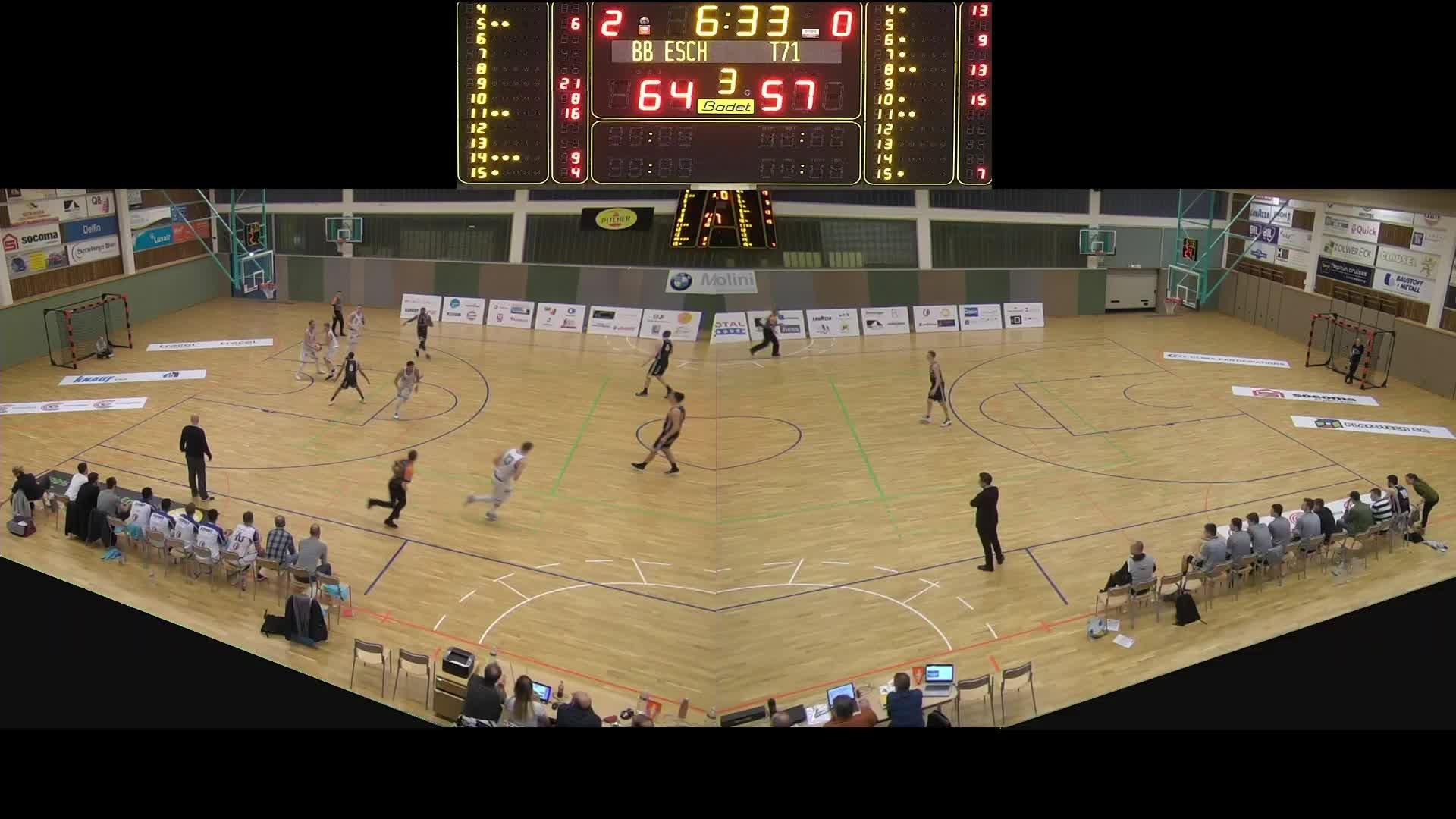 Basket Esch Seniors A - T71 - 24.02.2019