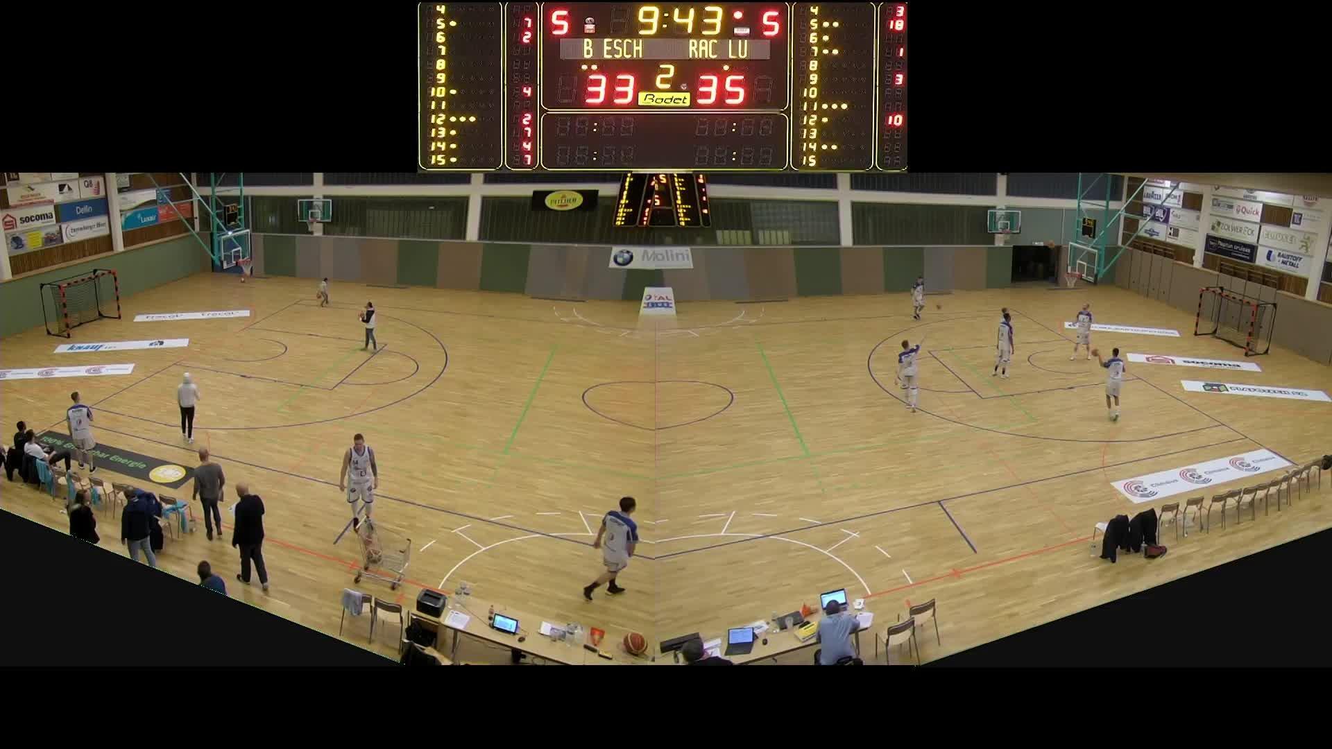 Basket Esch Seniors A - Racing - 03.03.2019