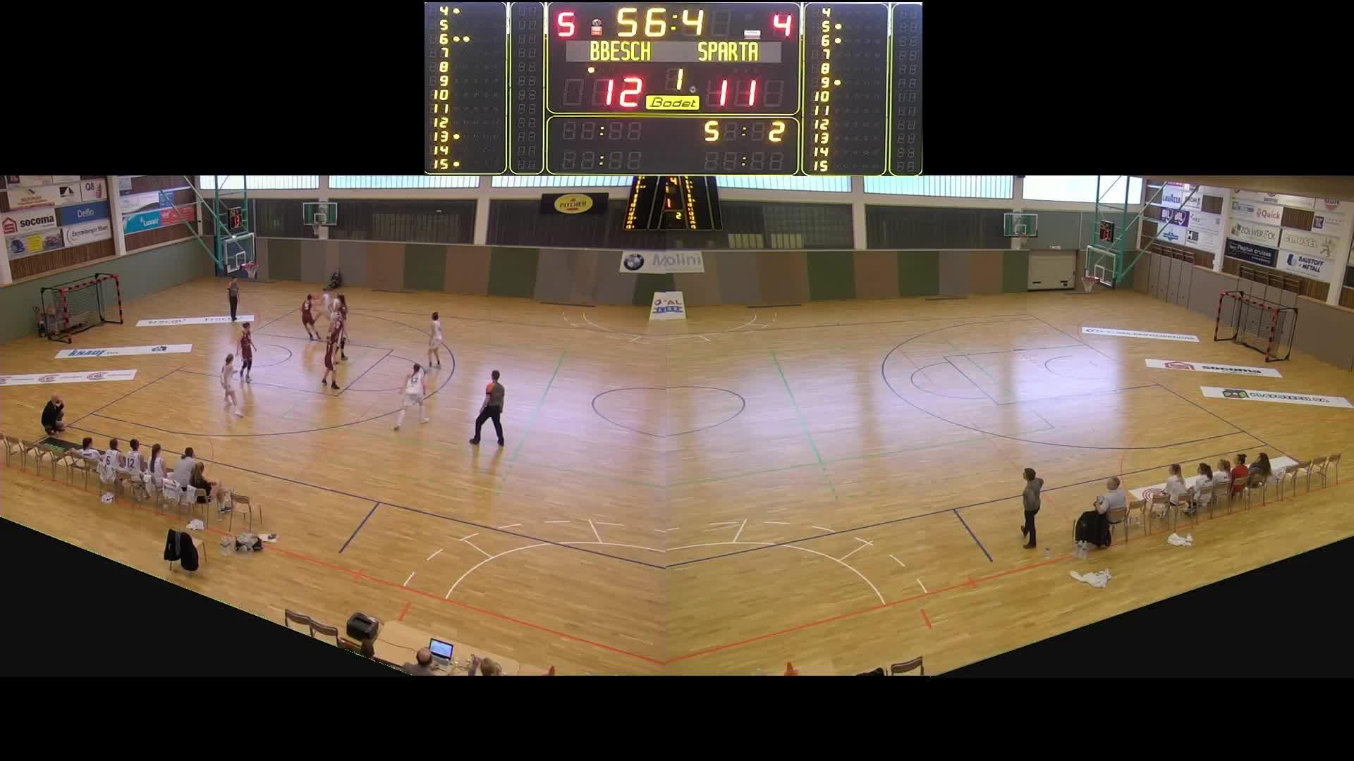 Basket Esch Dames A - Sparta - 24.03.2019