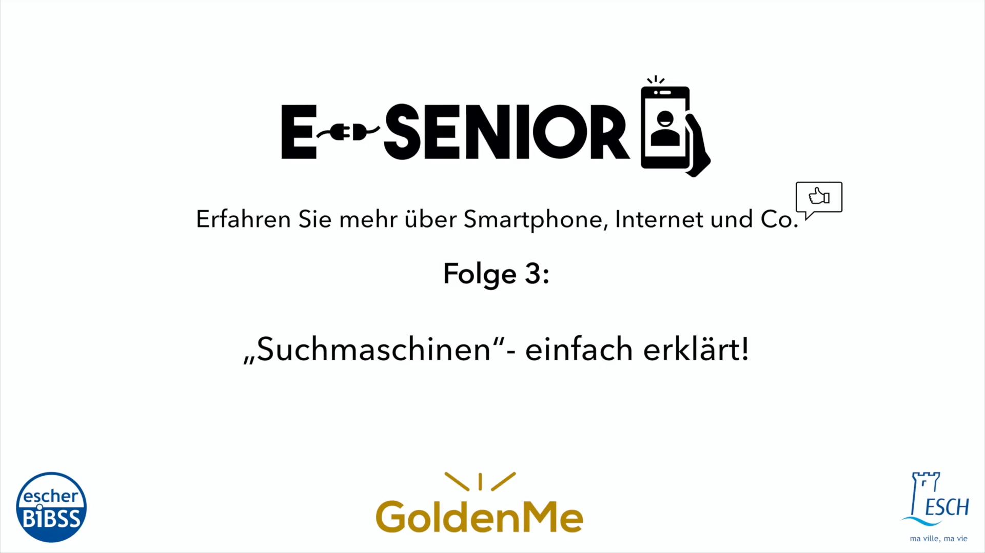 Escher BiBSS - e-Senior - Suchmaschinen