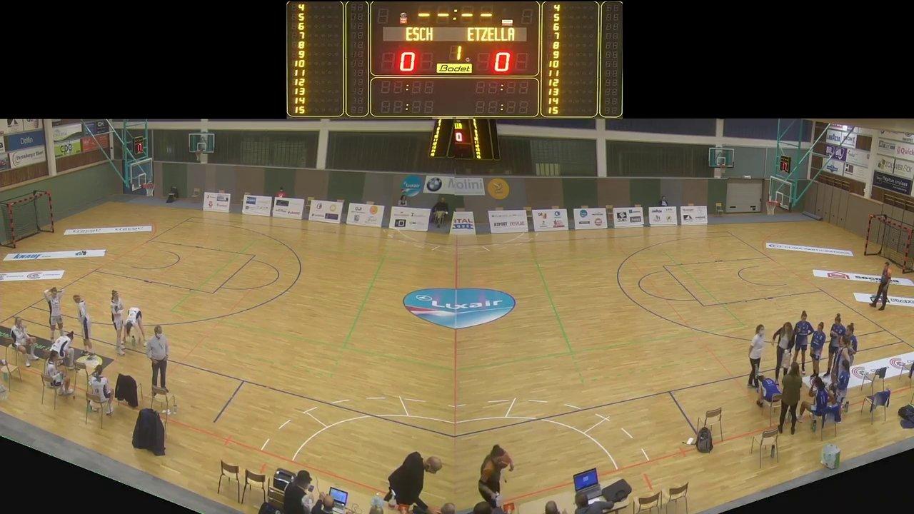 Basket Esch ( Dames A ) - Etzella - 17.10.2020