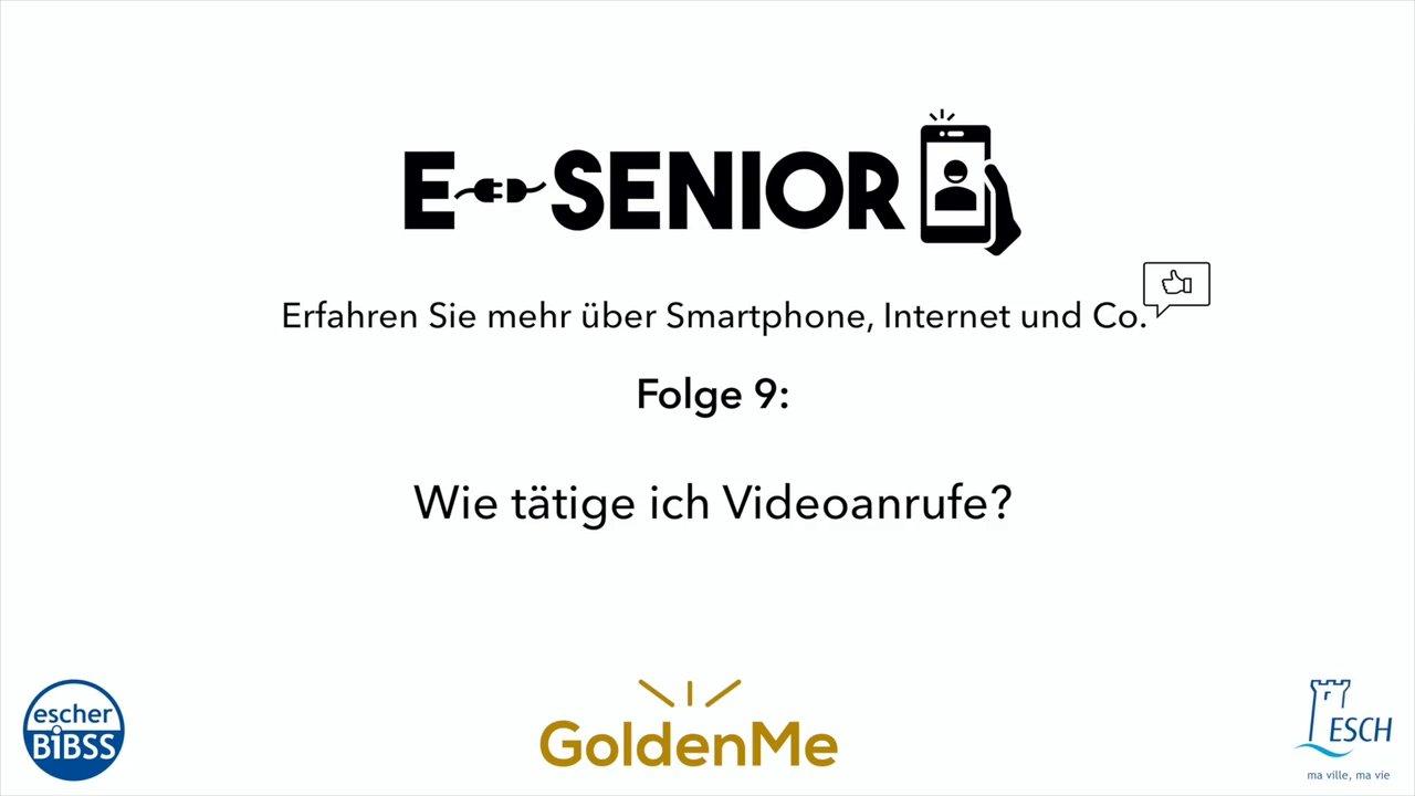 Escher BiBSS – e-Senior – Videoanrufe