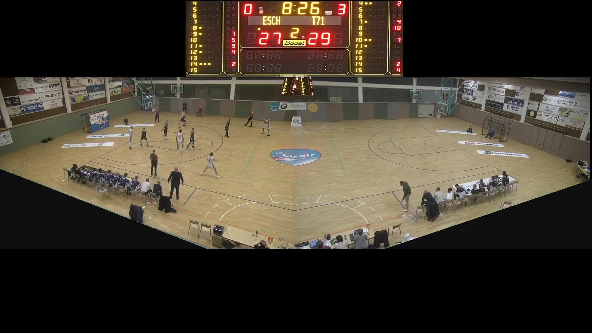 Basket Esch ( Seniors A ) – T71 – 08.02.2020