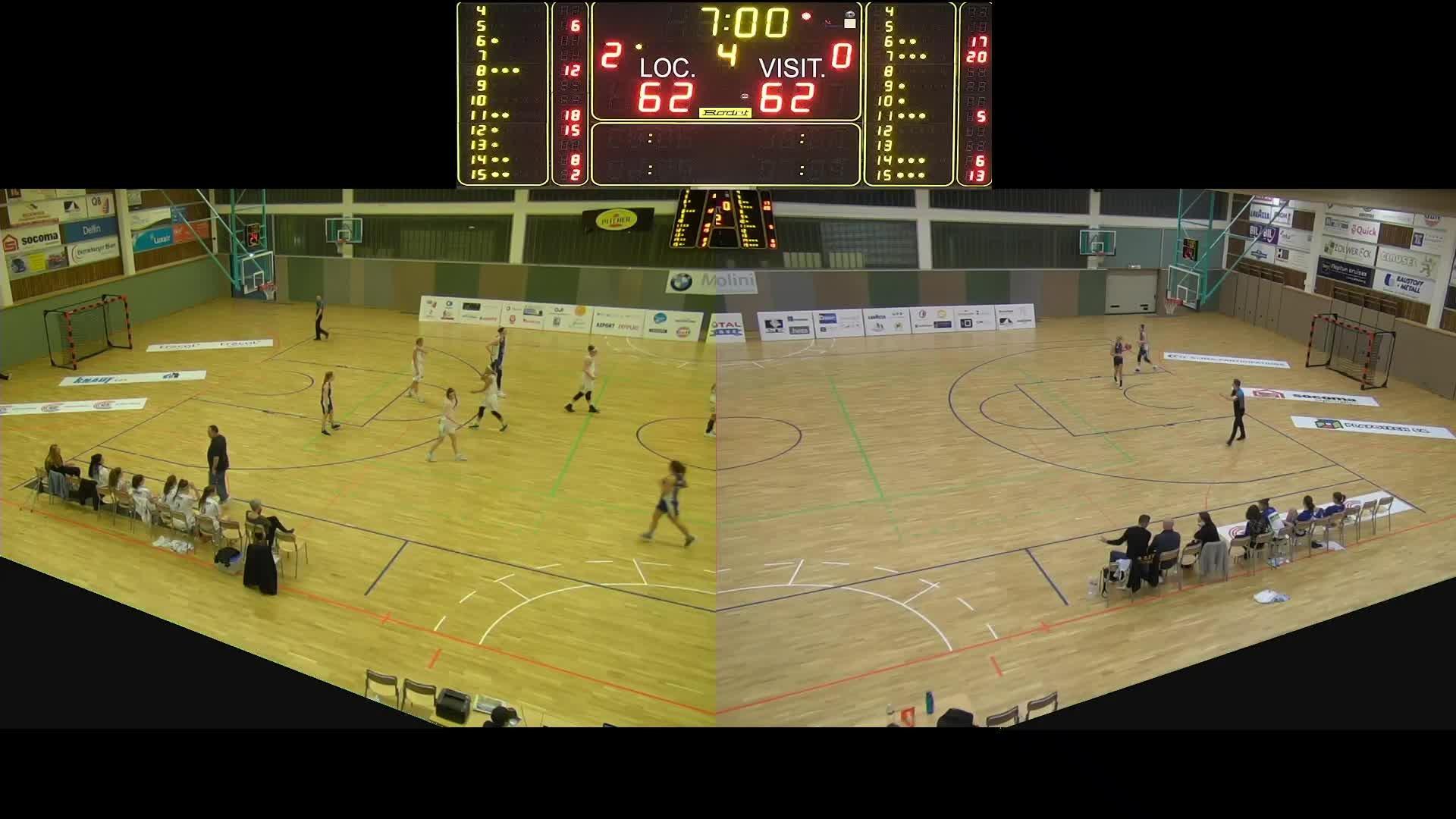 Basket Esch Dames A - Wolz - 09.02.2019