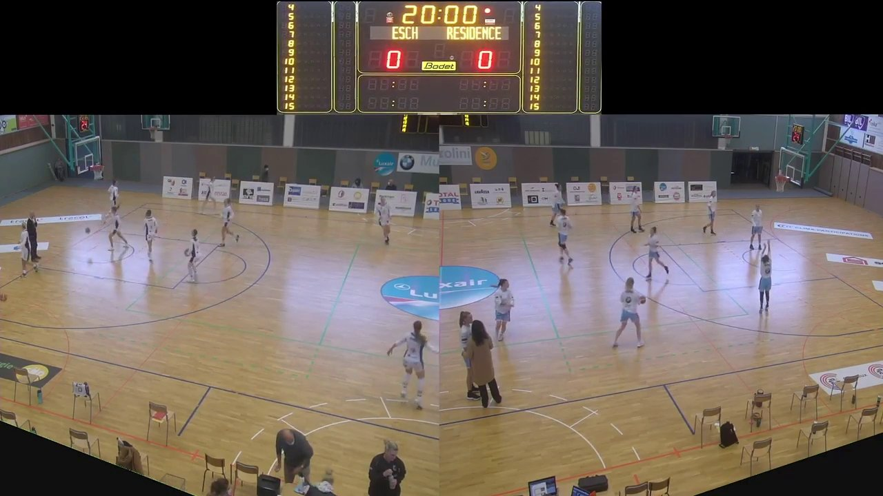 Basket Esch ( Dames A ) – Residence Walfer – 26.09.2020