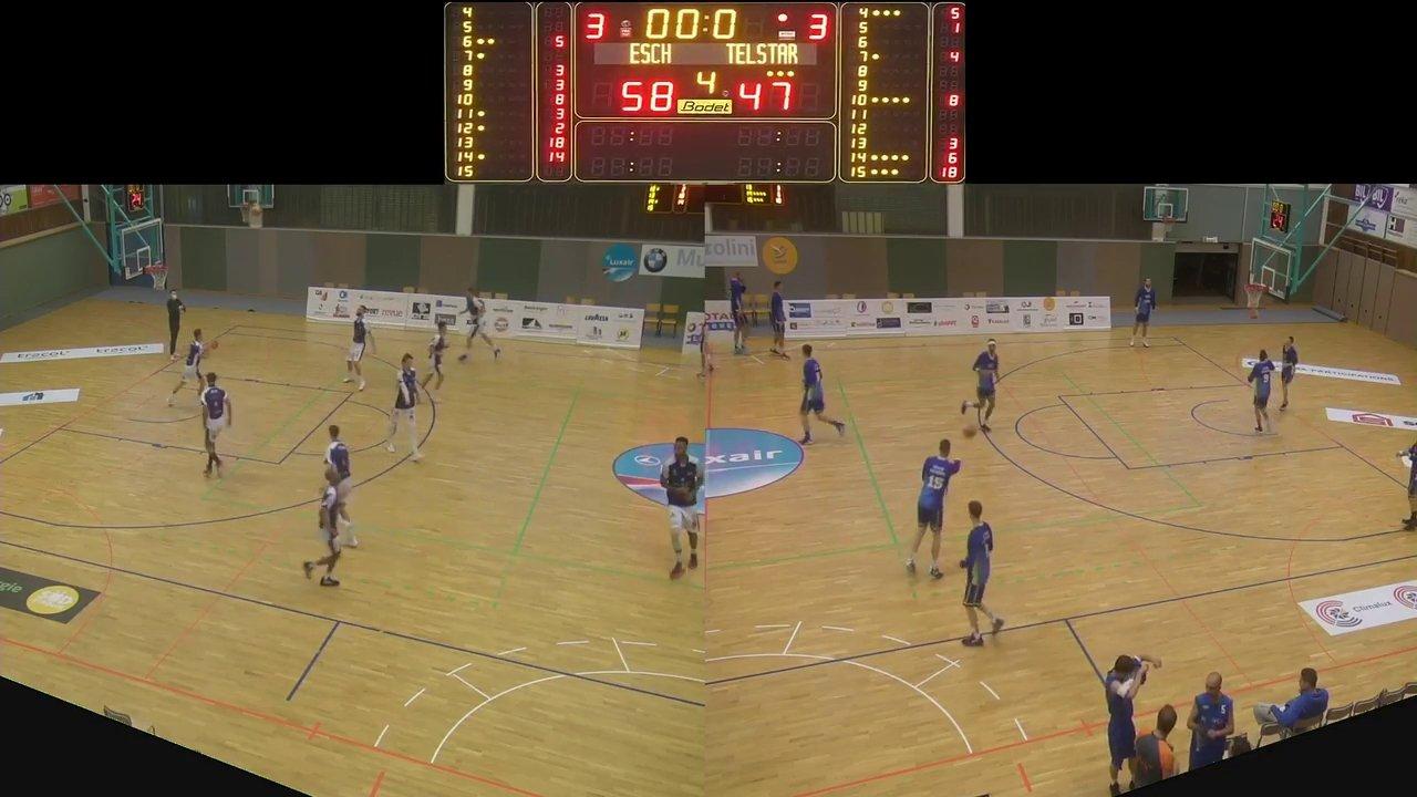 Basket Esch ( Seniors A ) – Telstar – 04.10.2020
