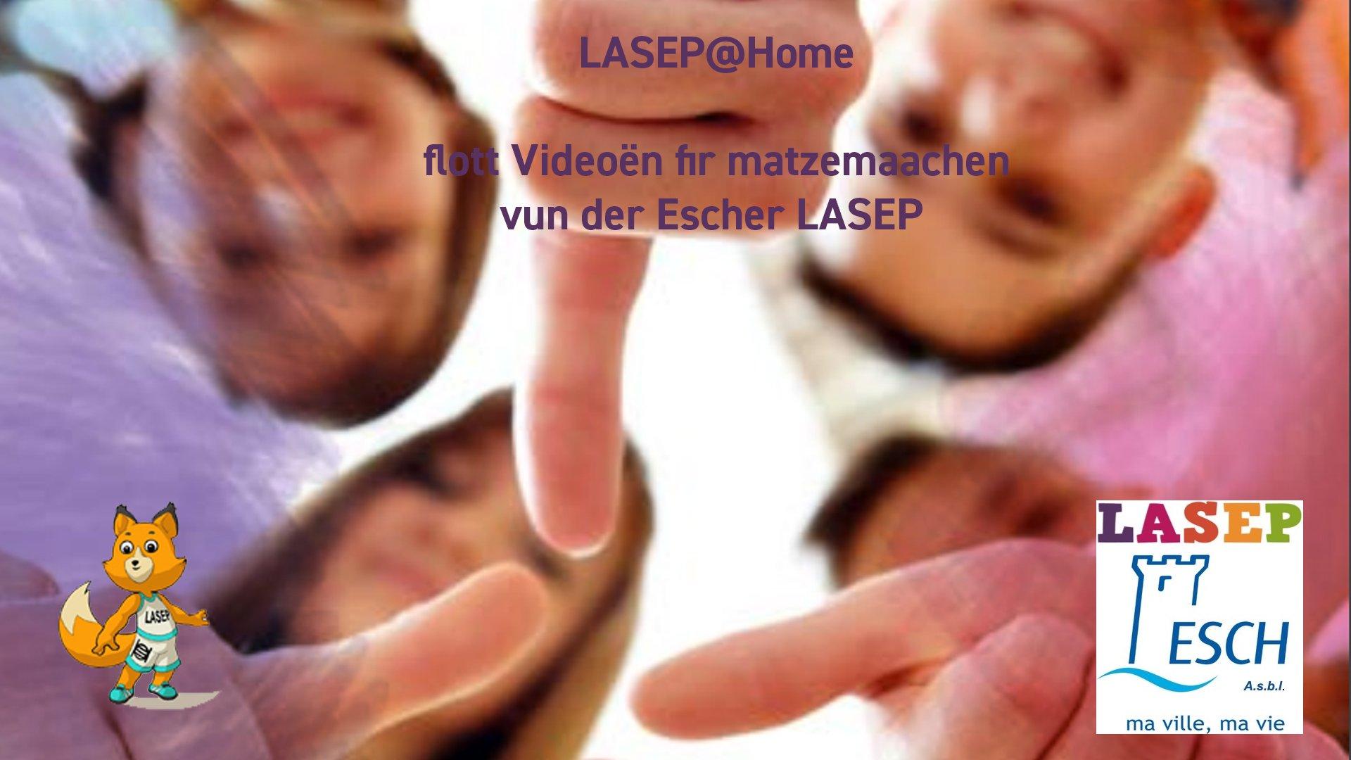 Lasep @ Home - 8.5.2020