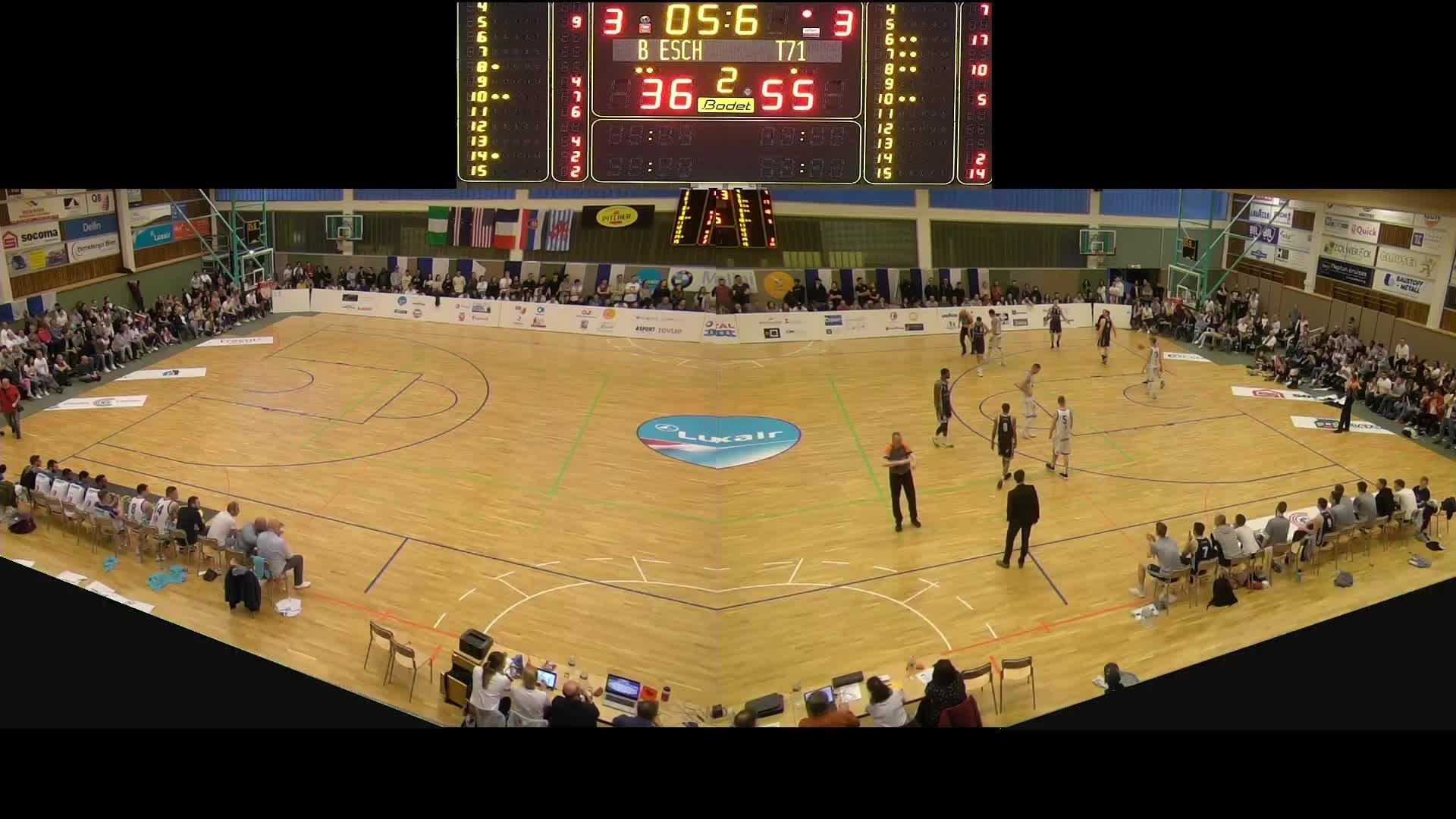 Basket Esch Seniors A - T71 - 17.04.2019