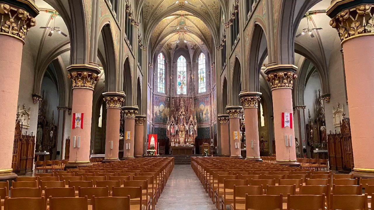 Eglise Saint Joseph - Messe avec le Te deum, prière pour le Grand-Duc