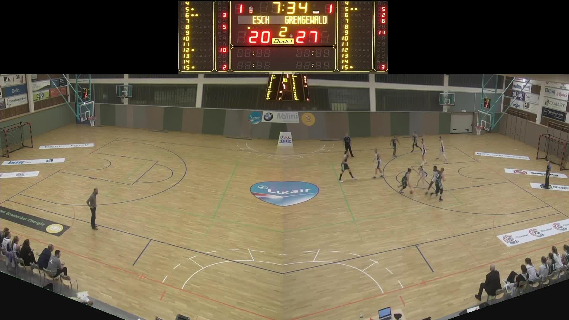 Basket Esch ( Dames A ) - Grengewald- 14.12.2019