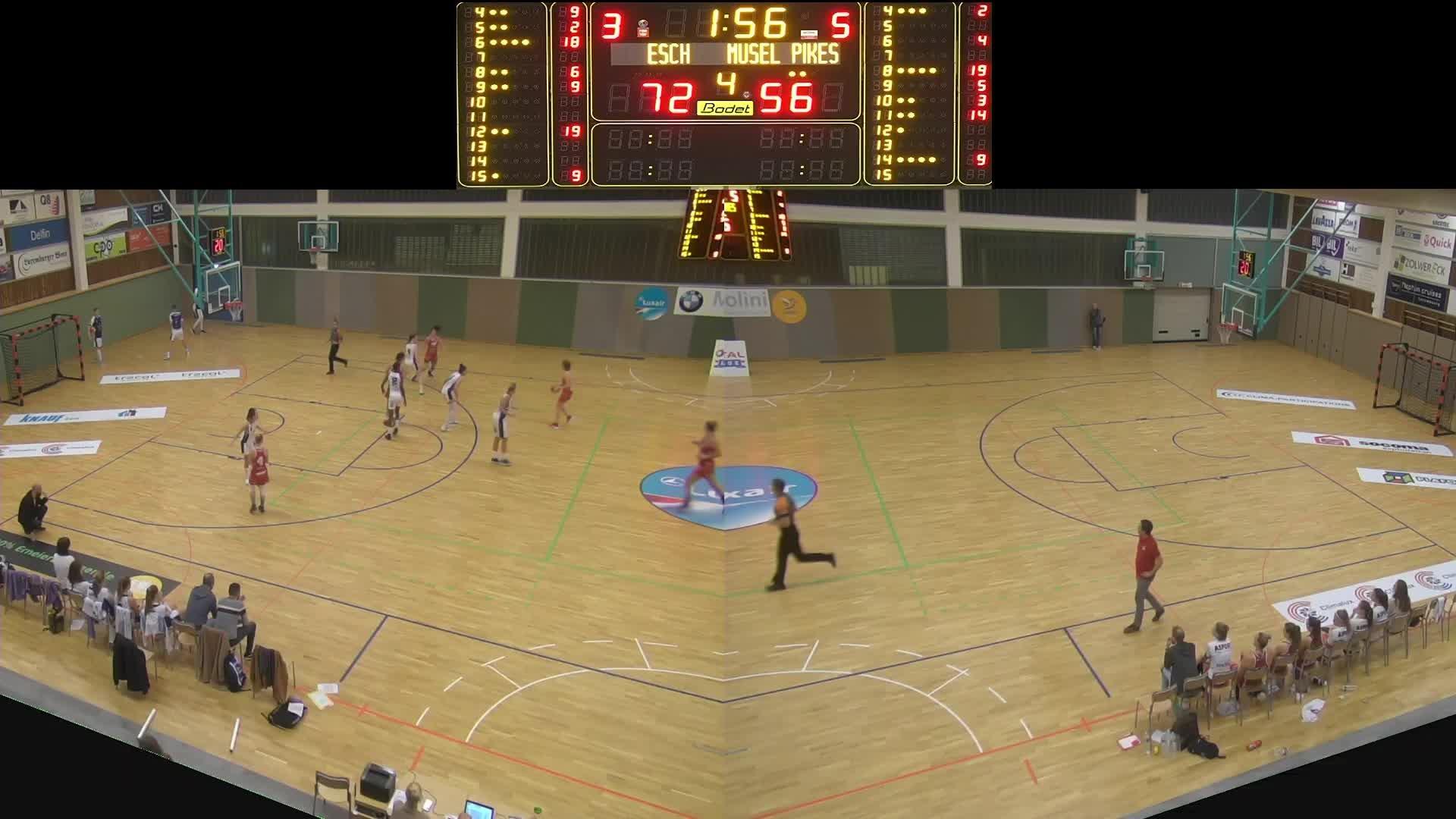Basket Esch ( Dames A ) - Musel-Pikes - 19.10.2019