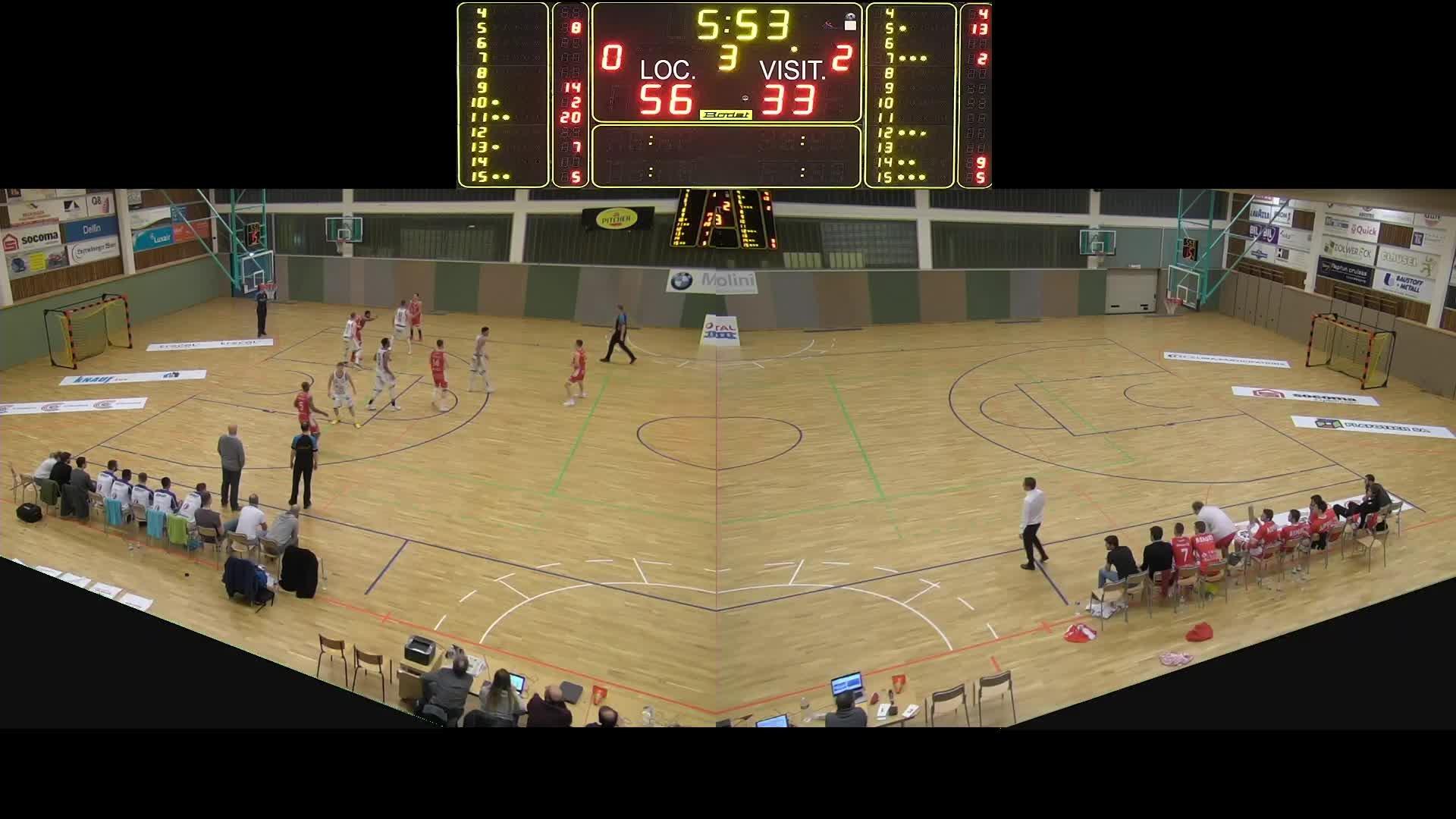 Basket Esch Seniors A - Sparta - 19.01.2019