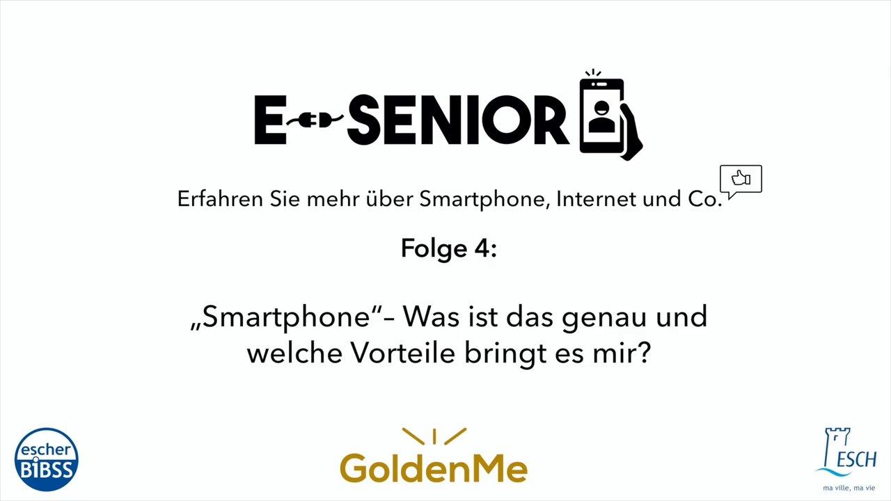 Escher BiBSS - e-Senior - Smartphone