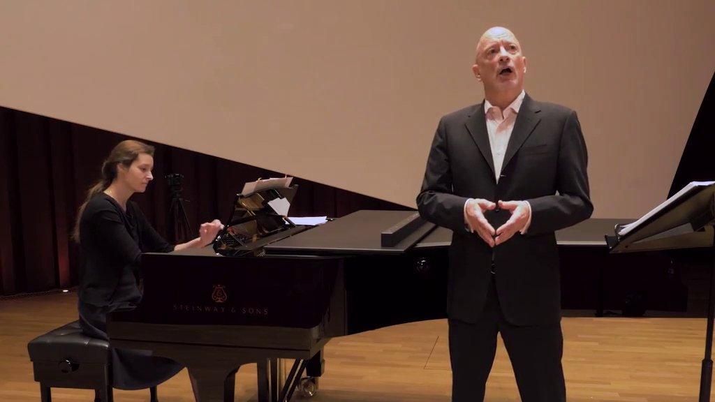 Duo chant et piano - Jean-Nico Schambourg et Arina Rasheva
