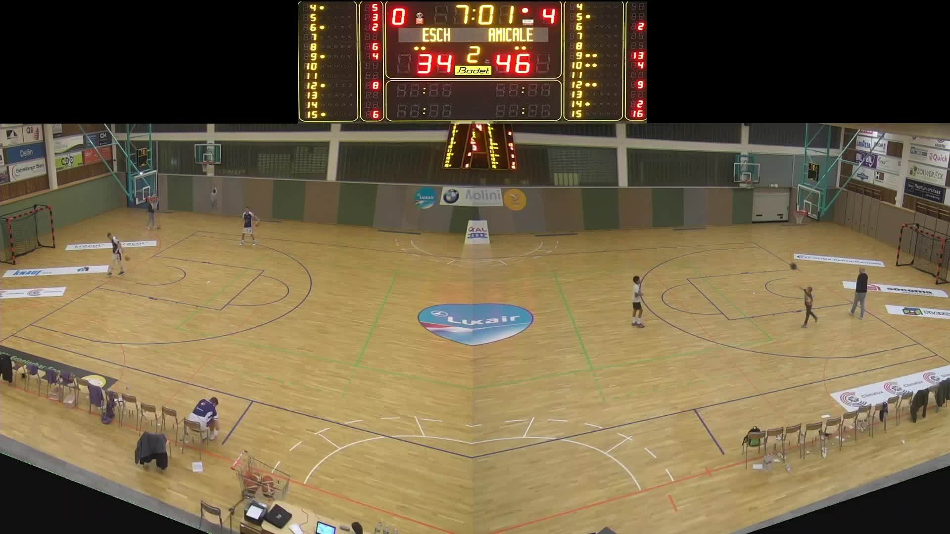 Basket Esch ( Dames A ) - Amicale - 26.10.2019