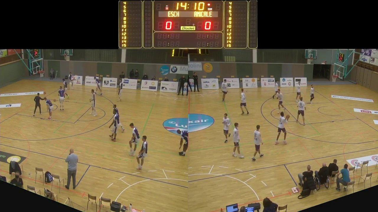Basket Esch ( Seniors A ) – Amicale Steesel – 26.09.2020